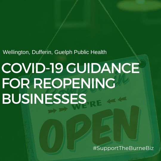 WDGPH COVID-19 Guidance for Reopening Businesses document