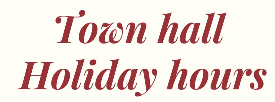 Holiday Hour sign
