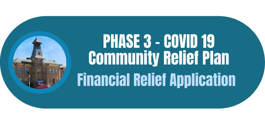 – Financial Relief Application Link button to application
