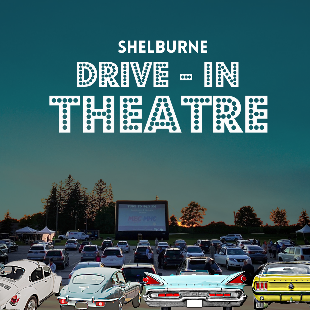 poster Drive in Theatre shelburne
