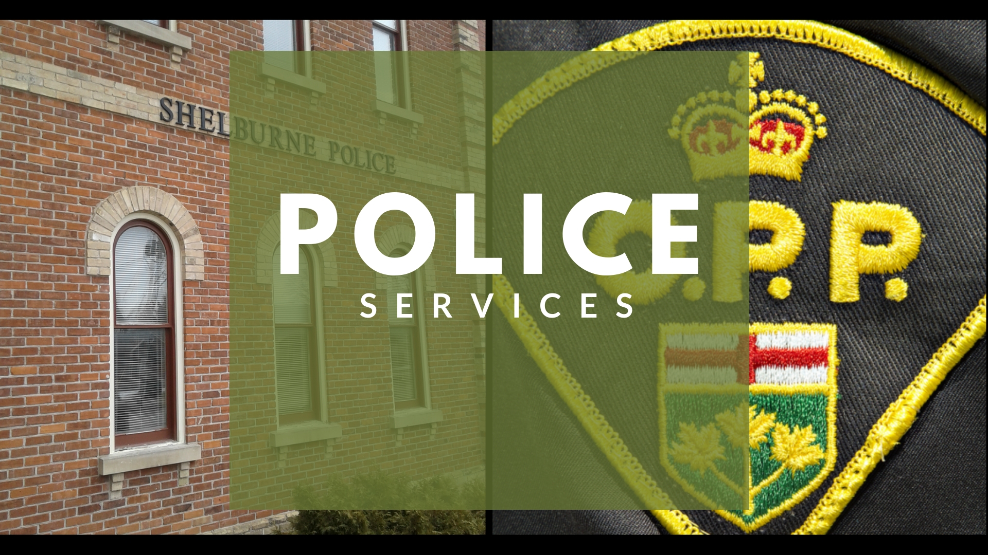 Police and OPP logo